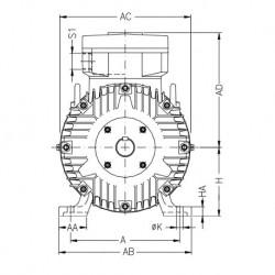 Variateur de vitesse ATV61 690V 37KW